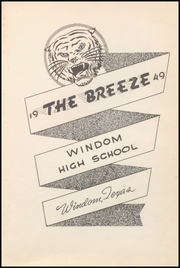 Page 7, 1949 Edition, Windom High School - Breeze Yearbook (Windom, TX) online yearbook collection
