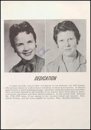 Page 9, 1959 Edition, Ladonia High School - Rattler Yearbook (Ladonia, TX) online yearbook collection