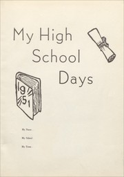 Page 7, 1951 Edition, Gober High School - Plowboy Yearbook (Gober, TX) online yearbook collection