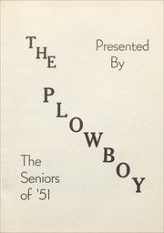 Page 9, 1951 Edition, Gober High School - Plowboy Yearbook (Gober, TX) online yearbook collection
