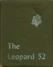 1952 Edition, Fort Hood High School - Leopard Yearbook (Fort Hood, TX)