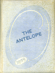 1959 Edition, Bledsoe High School - Antelope Yearbook (Bledsoe, TX)