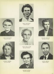 Page 17, 1956 Edition, Tuscola High School - Jungle Yearbook (Tuscola, TX) online yearbook collection