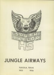 Page 5, 1956 Edition, Tuscola High School - Jungle Yearbook (Tuscola, TX) online yearbook collection