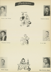 Page 17, 1951 Edition, Sharp High School - Mustang Yearbook (Sharp, TX) online yearbook collection
