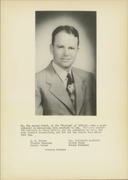 Page 7, 1951 Edition, Sharp High School - Mustang Yearbook (Sharp, TX) online yearbook collection