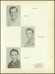 Page 15, 1956 Edition, Fluvanna High School - Buffalo Yearbook (Fluvanna, TX) online yearbook collection