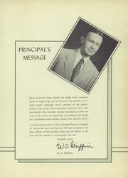 Page 11, 1954 Edition, Waco Technical High School - Spirit Yearbook (Waco, TX) online yearbook collection