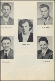 Page 15, 1951 Edition, Girard High School - Cardinal Yearbook (Girard, TX) online yearbook collection