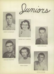 Page 16, 1953 Edition, Lawn High School - Longhorn Yearbook (Lawn, TX) online yearbook collection