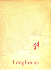 1954 Edition, Lawn High School - Longhorn Yearbook (Lawn, TX)