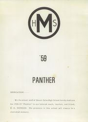 Page 7, 1959 Edition, Mount Calm High School - Panther Yearbook (Mount Calm, TX) online yearbook collection