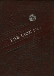 Page 1, 1947 Edition, Woodhouse High School - Lion Yearbook (Tucker, TX) online yearbook collection