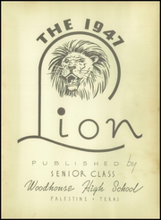 Page 7, 1947 Edition, Woodhouse High School - Lion Yearbook (Tucker, TX) online yearbook collection