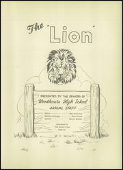 Page 7, 1951 Edition, Woodhouse High School - Lion Yearbook (Tucker, TX) online yearbook collection
