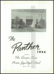 Page 7, 1954 Edition, Pecan Gap High School - Panther Yearbook (Pecan Gap, TX) online yearbook collection