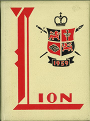 Leo High School - Leo Lion Yearbook (Chicago, IL) online yearbook collection, 1959 Edition, Page 1