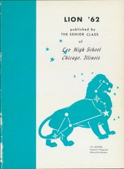 Page 5, 1962 Edition, Leo High School - Leo Lion Yearbook (Chicago, IL) online yearbook collection