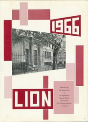 Page 5, 1966 Edition, Leo High School - Leo Lion Yearbook (Chicago, IL) online yearbook collection