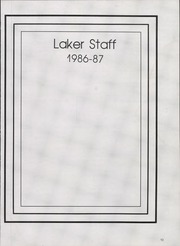 Page 17, 1987 Edition, Bonneville High School - Laker Log Yearbook (Ogden, UT) online yearbook collection