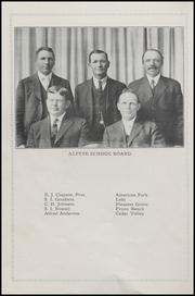 Page 10, 1916 Edition, American Fork High School - American Yearbook (American Fork, UT) online yearbook collection