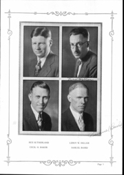 Page 6, 1930 Edition, Granite High School - Granitian Yearbook (Salt Lake City, UT) online yearbook collection