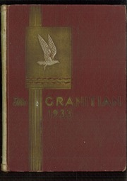 1933 Edition, Granite High School - Granitian Yearbook (Salt Lake City, UT)