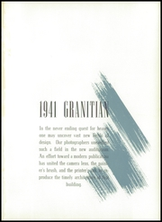Page 5, 1941 Edition, Granite High School - Granitian Yearbook (Salt Lake City, UT) online yearbook collection