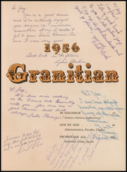 Page 7, 1956 Edition, Granite High School - Granitian Yearbook (Salt Lake City, UT) online yearbook collection