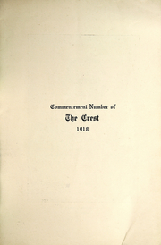 Page 5, 1918 Edition, Murray High School - Crest Yearbook (Murray, UT) online yearbook collection