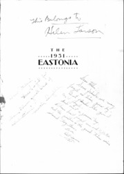 Page 3, 1931 Edition, East High School - Eastonia Yearbook (Salt Lake City, UT) online yearbook collection