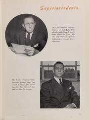 Page 13, 1947 Edition, East High School - Eastonia Yearbook (Salt Lake City, UT) online yearbook collection