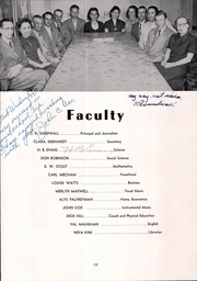 Page 15, 1953 Edition, Grand County High School - Mograndah Yearbook (Moab, UT) online yearbook collection