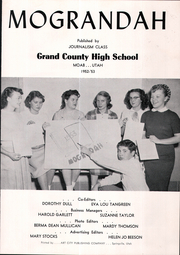 Page 5, 1953 Edition, Grand County High School - Mograndah Yearbook (Moab, UT) online yearbook collection