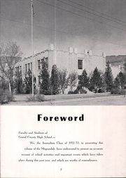 Page 7, 1953 Edition, Grand County High School - Mograndah Yearbook (Moab, UT) online yearbook collection