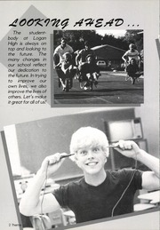 Page 12, 1985 Edition, Logan High School - Amphion Yearbook (Logan, UT) online yearbook collection