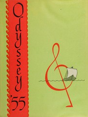 1955 Edition, Olympus High School - Odyssey Yearbook (Salt Lake City, UT)
