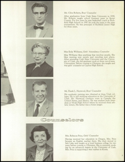 Page 17, 1958 Edition, Olympus High School - Odyssey Yearbook (Salt Lake City, UT) online yearbook collection