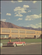 Page 7, 1958 Edition, Olympus High School - Odyssey Yearbook (Salt Lake City, UT) online yearbook collection