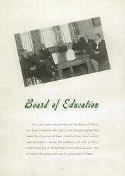 Page 12, 1942 Edition, Provo High School - Provost Yearbook (Provo, UT) online yearbook collection