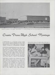 Page 7, 1967 Edition, Provo High School - Provost Yearbook (Provo, UT) online yearbook collection