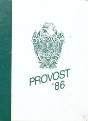 Provo High School - Provost Yearbook (Provo, UT) online yearbook collection, 1986 Edition, Page 1