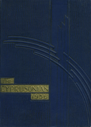 1936 Edition, Cyprus High School - Blue and Gold Yearbook (Magna, UT)
