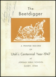 Page 6, 1947 Edition, Jordan High School - Beetdigger Yearbook (Sandy, UT) online yearbook collection