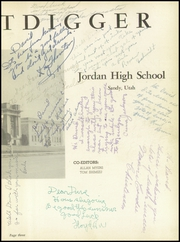 Page 7, 1951 Edition, Jordan High School - Beetdigger Yearbook (Sandy, UT) online yearbook collection