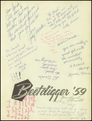 Page 5, 1959 Edition, Jordan High School - Beetdigger Yearbook (Sandy, UT) online yearbook collection