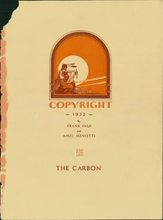 Page 5, 1932 Edition, Carbon High School - Carbon Yearbook (Price, UT) online yearbook collection