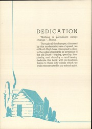 Page 8, 1936 Edition, South High School - Southerner Yearbook (Salt Lake City, UT) online yearbook collection