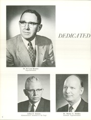 Page 10, 1962 Edition, South High School - Southerner Yearbook (Salt Lake City, UT) online yearbook collection
