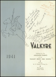 Page 7, 1941 Edition, Pleasant Grove High School - Valkyrie Yearbook (Pleasant Grove, UT) online yearbook collection
